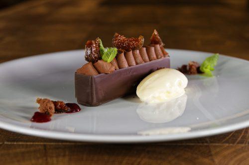 Dessert- Kandierte Feige I Schokolade