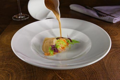 Suppe Krustentierbouillabaisse
