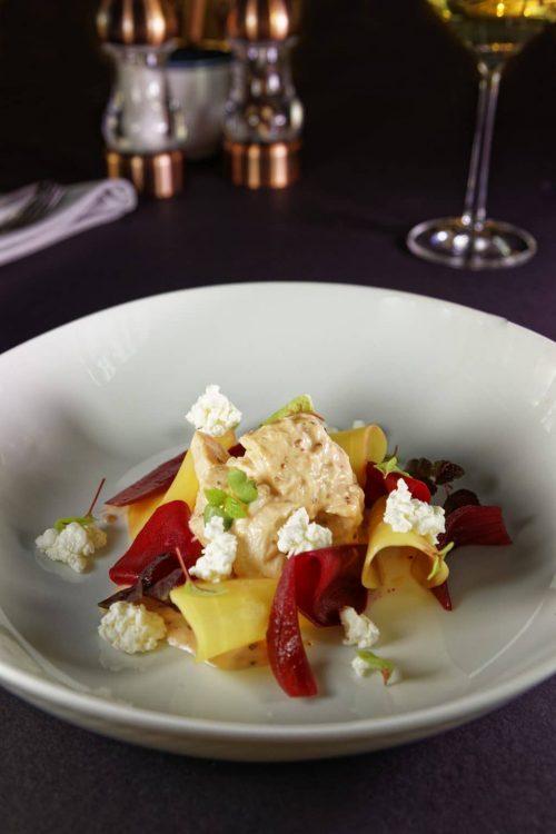 Vorspeise Salat vom Kikok Hähnchen